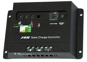 lux.pro® 10A SOLAR LADEREGLER 12V 24V SOLARREGLER from lux.pro