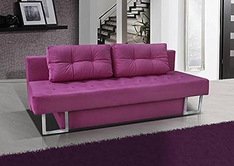 3er Sofa Luciel mit Staukasten und Bettfunktion - Abmessungen: 205 x 90 cm (B x T)