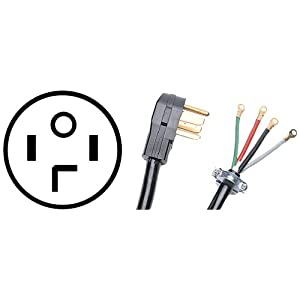 PETRA 90-2028 10-Foot 4-Wire Dryer Cord