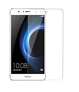 Royal Touch TM HUAWEI HONOR 8 TEMPERED GLASS SCREEN PROTECTOR/BUBBLE FREE APPLICATION/HOLE FOR FRONT PROXIMITY SENSOR/NO HANGING PROBLEM/HIGH QUALITY JAPANES AGC GLASS MATERIAL