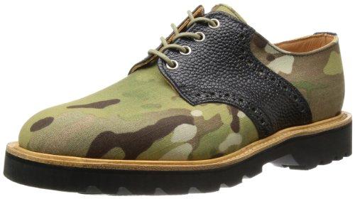 [マークマクナイリー] Mark McNairy Saddle Derby Shoe 9826MLTCBG Multicam+Army Black(Multicam+Army Black/7)