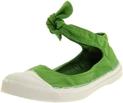 Ballerine Flo Lace-Up Fashion Sneaker,Pomme S11,37 EU/6-7 M US: Shoes