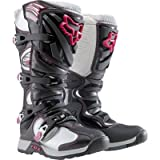 FOX COMP 5 WOMENS MX/OFFROAD BOOTS BLACK/PINK 5
