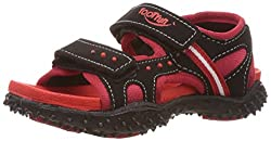 Footfun (from Liberty) Boys Habana Red Floaters and Sandals - 9 kids UK/India (27 EU)