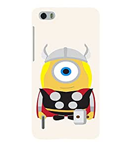 EPICCASE Funny Minion Mobile Back Case Cover For Huawei Honor 6 (Designer Case)