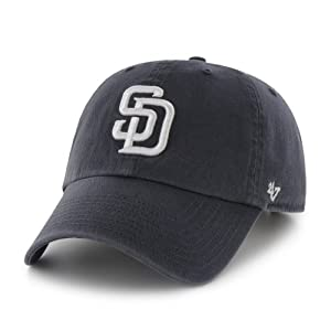 San Diego Padres Clean Up Adjustable Cap (Navy)