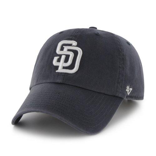 San Diego Padres Clean Up Adjustable Cap (Navy)