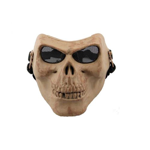Pixnor@ M02 Protective Skeleton Warriors Mask Motorcycle Safe Gear 5 Color (Skeleton)