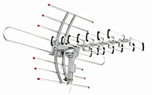 Esky® HG-981 Remote controlled Amplified VHF UHF Outdoor Hdtv Hd Rotor Tv Antenna 360° rotation