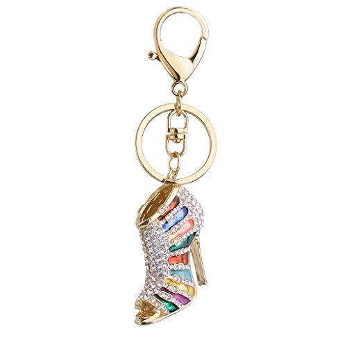 mite-gold-tone-bling-crystal-animal-featured-keychain-key-chain-super-cute-purse-handbag-charm-gift-