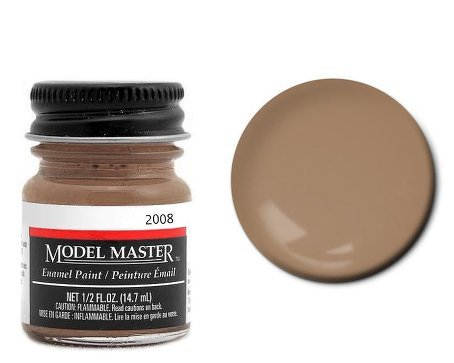 Raw Sienna Model Master Enamel .5oz Bottle