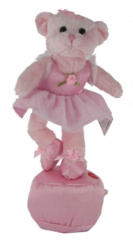 Giselle the Ballerina Dancing Plush Teddy Bear
