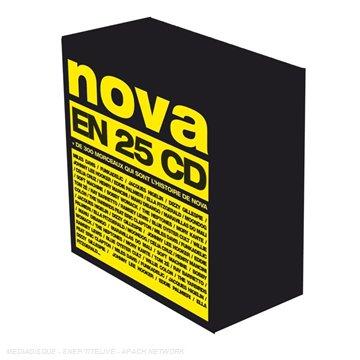 25 Ans de Nova II : 25 Ans Avant Nova (Coffret 25 CD)