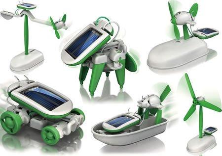 6in1 Solar Spielzeug Baukasten Lernspielzeug