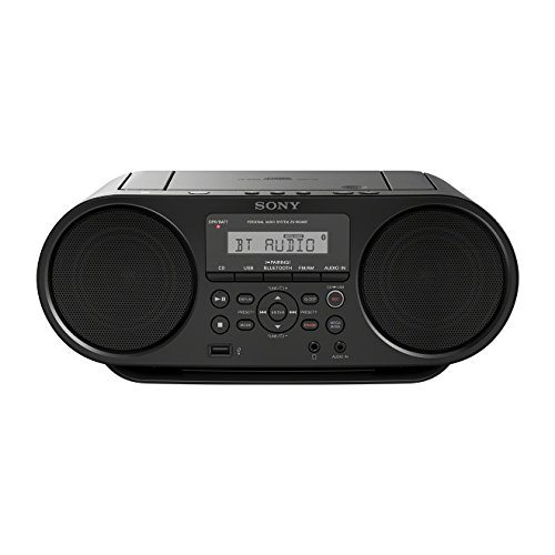 Sony ZS-RS60BT Lecteur CD/MP3, USB Rec, Radio - Noir