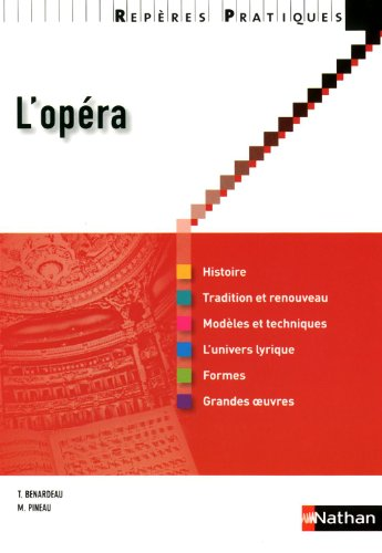 L'opéra - Collection Repères Pratiques