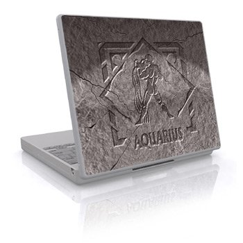 Zodiac - Aquarius Design Skin Decal Sticker Cover for Laptop Notebook Computer - 15