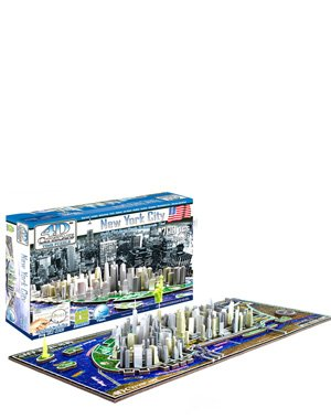 Cheap Cityscape 4D New York City Skyline Time Puzzle (B002T1HG82)