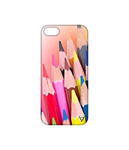Vogueshell Pencil Colour Printed Symmetry PRO Series Hard Back Case for Apple iPhone 5s