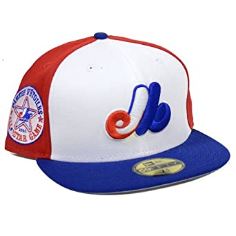 Montreal Expos 1982 All Star Patch Redux Fitted Hat by New Era