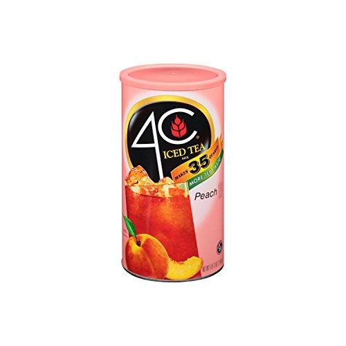 4C Iced Tea Mix, Peach (87.9 oz.) (4c Iced Tea Mix compare prices)