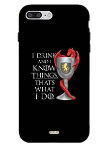 Game Of Thrones - Tyrion - Hard Back Case Cover for iPhone 7 - Superior Matte Finish - HD Printed Cases and Covers