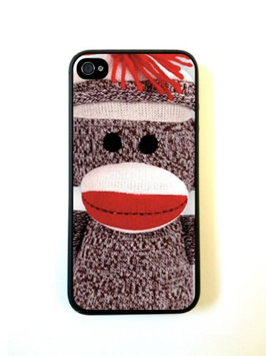 iPhone 5 Case ThinShell Case Protective iPhone 5 Case Sock Monkey