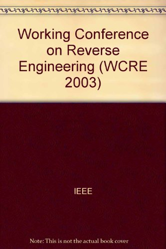 10th Working Conference On Reverse Engineering Wcre 2003