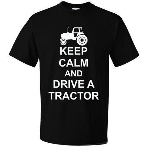 Bullshirt-diseo-de-animales-para-hombre-para-proteger-el-telfono-de-GB-es-de-un-Tractor-T-Shirt