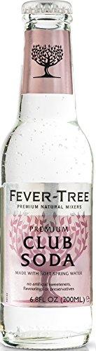 Fever-Tree Spring Club Soda, 6.8-Ounce Glass Bottles (Pack of 24) (Fever Tree Spring Club Soda compare prices)