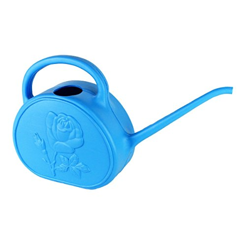 Union 63149 Rose Bud Watering Can, 2 quart, Blue (Blue Watering Can compare prices)
