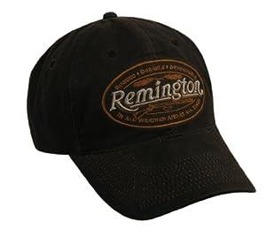 Outdoor Cap Remington Logo Cap Brown Wax Cotton 1-Size