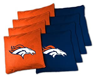 NFL Denver Broncos X-Large Bean Bag Toss Corn Hole Game by Wild Sports