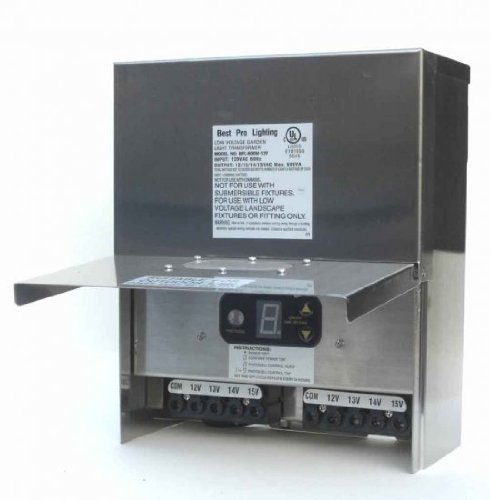 600 Watt Multi Tap Stainless Steel Transformer