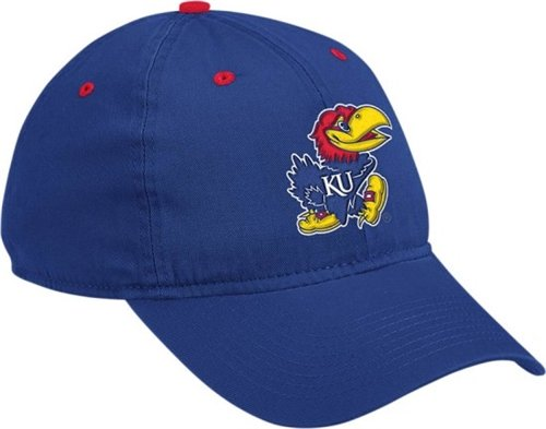 Kansas Jayhawks Adidas Royal Blue Adjustable Slouch Hat at Amazon.com