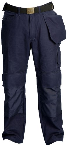 Skillers 100% Cotton Navy Blue Pants - Size 32X28