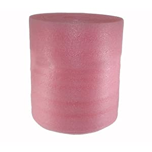 65 feet 1 8 inch pink anti static foam wrapping perforated every 12 inches 65 sq ft. Black Bedroom Furniture Sets. Home Design Ideas