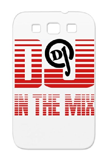 Dj_Mix Tpu Red Fun R&Amp;B Metal Party Rock House Music Sounds Dance Pop Sound Country Dance Electronica Dj Dancer Jazz Birthday Disco Records Rock`Nroll Classic Music Headphone Headphones Rock And Roll Hiphop For Sumsang Galaxy S3 Case
