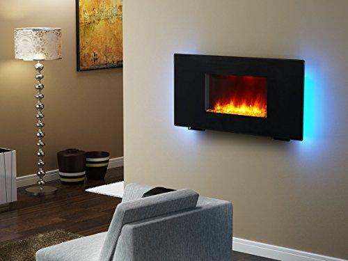 【薄型オシャレ★】 壁付け/床置き可能 電気暖炉 <とっても暖か節電設計> 並行輸入品