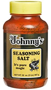 Johnny's Seasoning Salt, 32-Ounce Bottles (Pack of 3)
