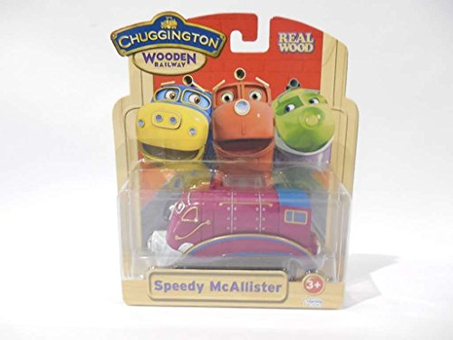 Chuggington Wooden Railway Speedy McAllister