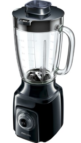 Philips HR2170 00 Blender with Serrated Blades and 1.5 Litre Glass Jar  600 Watt