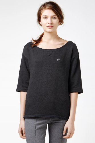 Lightweight Off Shoulder Sweatshirt