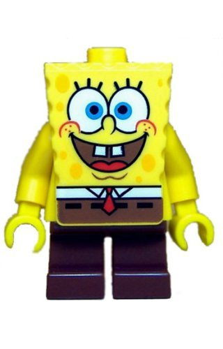 LEGO SpongeBob Squarepants Minifigure - SpongeBob I'm Ready Classic Version