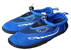 TWF Graphic Aqua Shoes BLUE UK 8