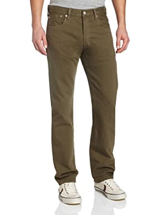 Levi's Men's 501 Original Fit Jean, Ivy Green-Garment Dye, 29x30