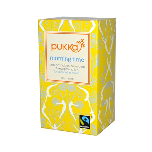 Pukka Herbal Teas Herbal Morning Time Organic Tea - 20 Bags