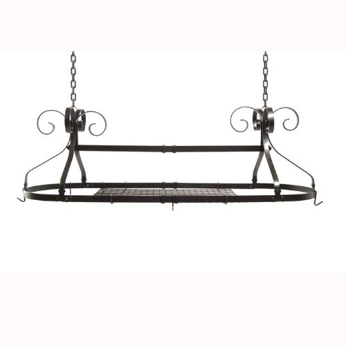 Cheap Expandable Oval Hanging Pot Rack (B007VAHHKI)