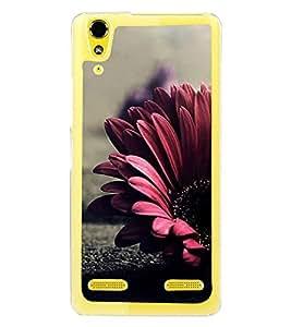 Flower 2D Hard Polycarbonate Designer Back Case Cover for Lenovo A6000 Plus :: Lenovo A6000+ :: Lenovo A6000