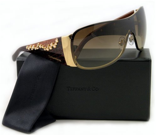 AUTHENTIC TIFFANY & CO SUNGLASSES 3010B 6002/3B MULTICOLOR